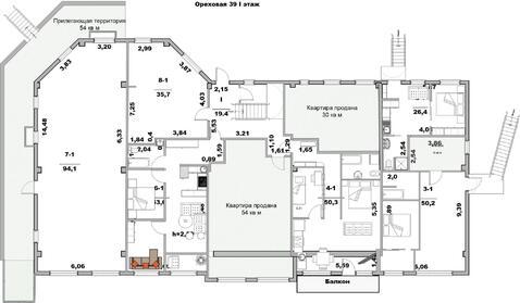 Помещение своб. назнач, 94 м2, этаж 1/5 в Ялте - Фото 3