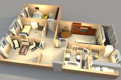 Продам 4-комн квартиру в брагино - Фото 1