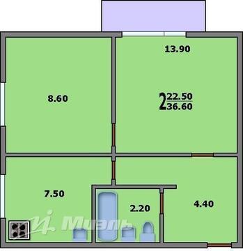 Продажа квартиры, м. Октябрьское поле, Ул. Маршала Тухачевского - Фото 5