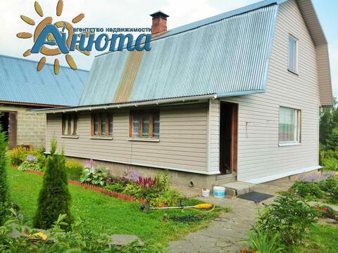 Дом в деревне Тростье заповедника Барсуки Калужской области. - Фото 2