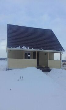 2-х этажная дача 70 кв.м на земельном участке 10,5 сот. в д. . - Фото 2