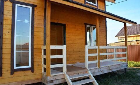 Продается новый дом 142м2 на 8 сот. с.Малышево, Раменский район - Фото 3