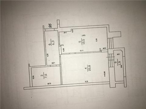 1к квартира Калинина 60 - Фото 4