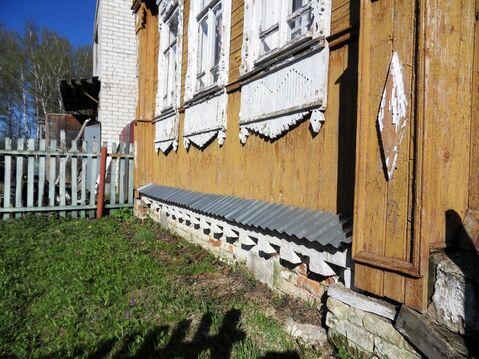 Бревенчатый дом в дер. Сабуриха Лежневского района Ивановской области. - Фото 3