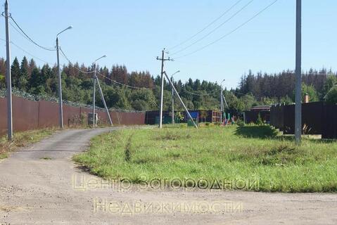 Участок, Калужское ш, 25 км от МКАД, Птичное, коттеджный поселок. . - Фото 3