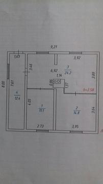 Продам: дом 62.5 м2 на участке 10 сот - Фото 1