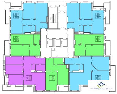 Продам однокомнатную квартиру Лесопарковая, 7в, 52 кв.м. Цена 4030т.р - Фото 4