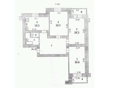 Продается 3-к квартира в центре - Фото 2