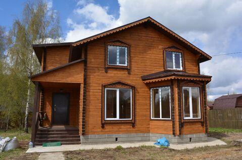 Новый брусовой утеплённый дом в 35 км от Сергиев-Посада - Фото 2
