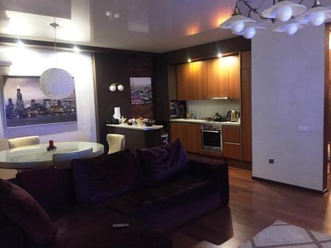 2+ кухня - гостиная, с ремонтом, Одесская - Фото 2
