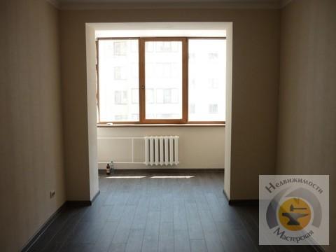 Квартира без мебели, встроенная кухня, холодильник - Фото 2