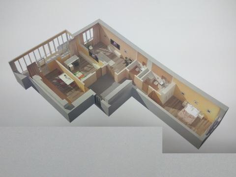 Трехкомнатная квартира на ул. Коммунистическая - Фото 1