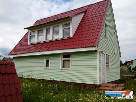Дом-баня из бруса на Можайском водохранилище, 100 кв.м, 17 соток, д. - Фото 1