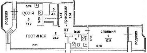 Москва г, Беловежская ул, д. 17, корп.2 - Фото 3