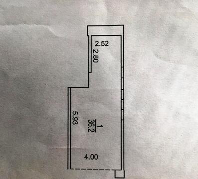 Гараж-бокс 36 кв.м на 2 авто в подземном паркинге. м.По - Фото 4