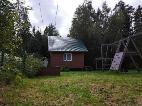 Продается участок С небольшим новым домом под выборгом, недалеко от за - Фото 4