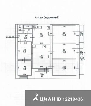 Продаю5комнатнуюквартиру, Тверь, улица Лукина, 10, Купить квартиру в Твери по недорогой цене, ID объекта - 320890686 - Фото 1