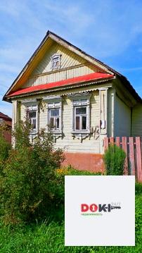 Продается небольшой дом 40 кв.м, построенный из бревна, который обяз - Фото 1