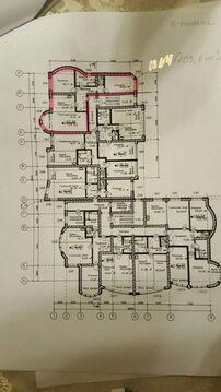 Квартиры 2, 3, комнатные, 4-х этажного дома, чистовая отделка, . - Фото 5