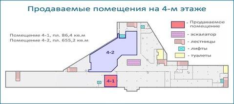 Псн 86,4 кв.м в действующем тоц в центре Красногорска, 6 км от МКАД - Фото 5