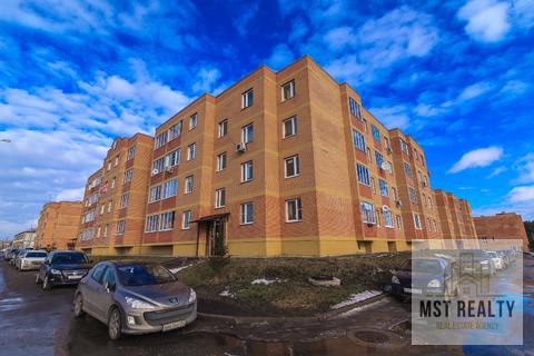 Однокомнатная квартира в ЖК Видный переделанная в евро-двушку - Фото 1
