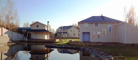 Дом 140м2 с банькой 64м2 и озером 150м2 - Фото 3