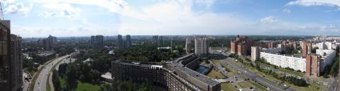 Видовая 2-комн.кв. 63.5м, 25/25-эт. кирп. дома, панорама на город - Фото 5