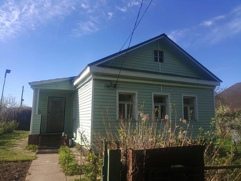 Участо 8,5 сотокс домом 37,5 кв.м в д. белозерово - Фото 1
