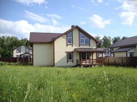 Продаётся новый дом 225 кв.м с уч. 10 сот.- 35 км от МКАД - Фото 1