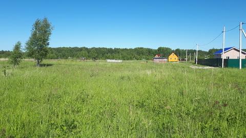 Участок 11.6 соток в д.Скрипово, рядом лес, водоем и п.Заокский - Фото 3