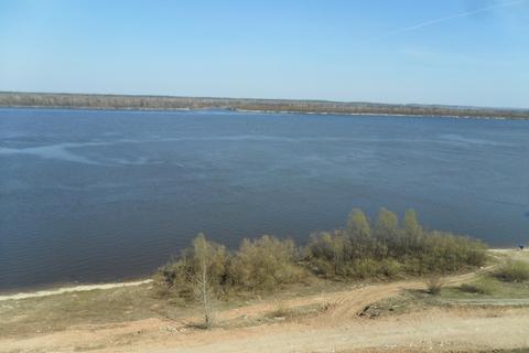 Земельный участок с видом на Волгу 25 км. от Н.Новгорода - Фото 2