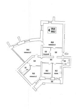 Владимир, Пугачева ул, д.60а, 4-комнатная квартира на продажу - Фото 1