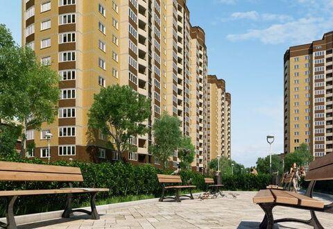 1-к квартира, улица Заречная 6, площадь 39.9, этаж 11 - Фото 5