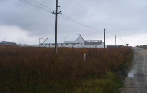 Продам участок 20 сот, 8 км до города, земли промназначения