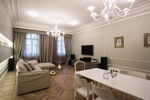 """Роскошная 2х комнатная квартира с кухней гостиной в элитном ЖК """"монфер - Фото 1"""