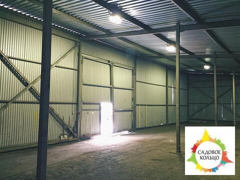 Под склад, металлический ангар, холод, выс. потолка: 6 м, большие вор - Фото 1