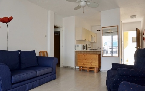 Трехкомнатный Апартамент с большой верандой в пригороде Пафоса - Фото 3