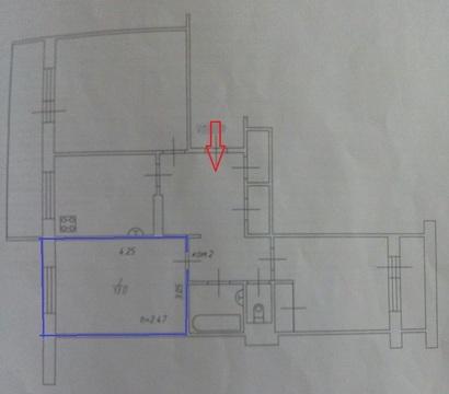Комната 13м, ул. Кул Гали, 9/95 - Фото 2