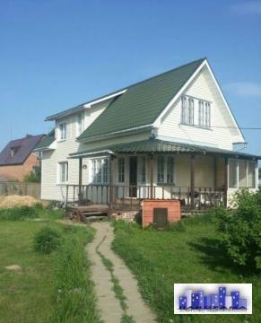 Дом 120 кв.м на участке 8 соток в д. Михайловка - Фото 1