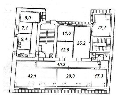 Апартаменты 219,2 кв.м. на улицы Куйбышева 32 (Петроградский район, . - Фото 1