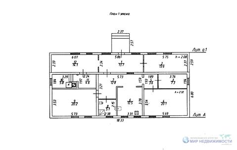 Домовладение на 50 сот. земли площадью 133,4 кв.м. в д. Рождествено - Фото 2