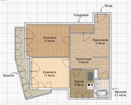 Объявление №60959207: Квартира 2 комн. Томск, ул. Алтайская, 107а,