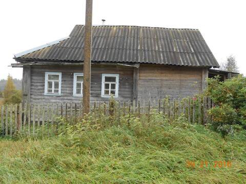 Купить дом с участком в Валдайском районе, деревня Козлово - Фото 1