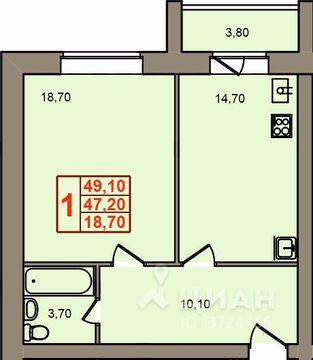 Продаю1комнатнуюквартиру, Кострома, улица Свердлова, 56, Купить квартиру в Костроме по недорогой цене, ID объекта - 323531165 - Фото 1