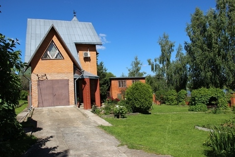 Продаю дом, земельный участок 13 соток в д. Скулино на первой линии от - Фото 3
