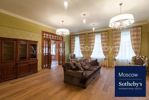 Квартира в классическом стиле на Остоженке - Фото 1