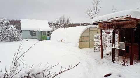 Дача на 5 сотках в 1км от реки Ока, д.Велегож, 100км от МКАД - Фото 3