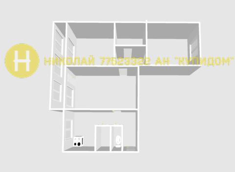 Продается 3 комнатная квартира на Балке. Площадь 64 м.кв. - Фото 4