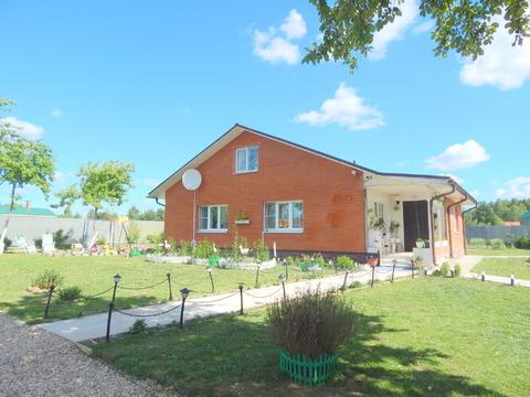 Двухэтажный кирпичный дом 160 кв на 15 с в с. Осташево - Фото 2