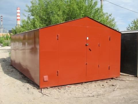 Металлический гараж новый - Фото 2